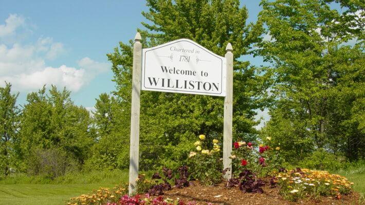 Уиллистон город Америка США