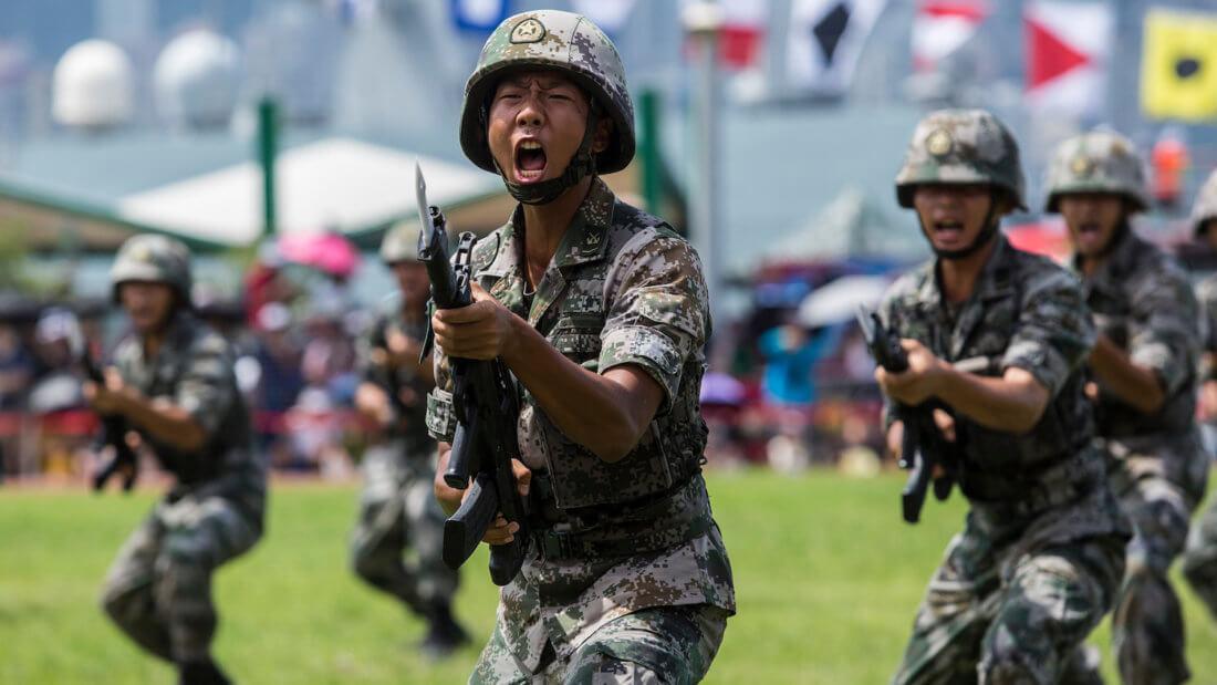Солдат Китай страна