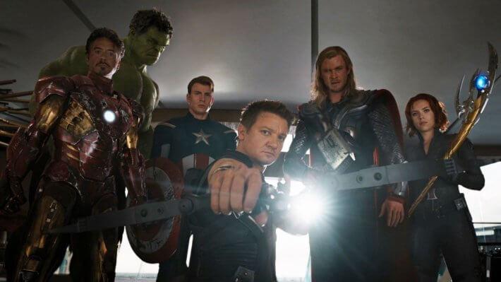 Marvel Мстители фильм комикс