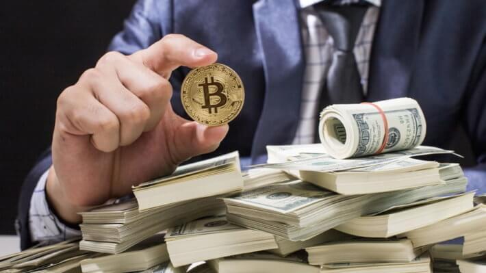 Биткоин доллар трейдинг криптовалюта