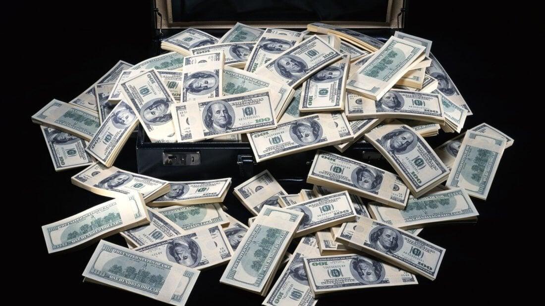 кейс деньги доллар богатство