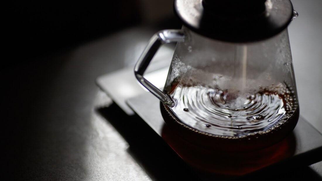кофе воронка