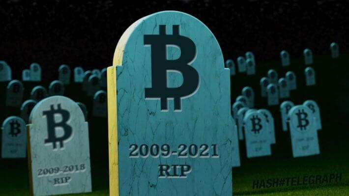 Биткоин критика криптовалюта