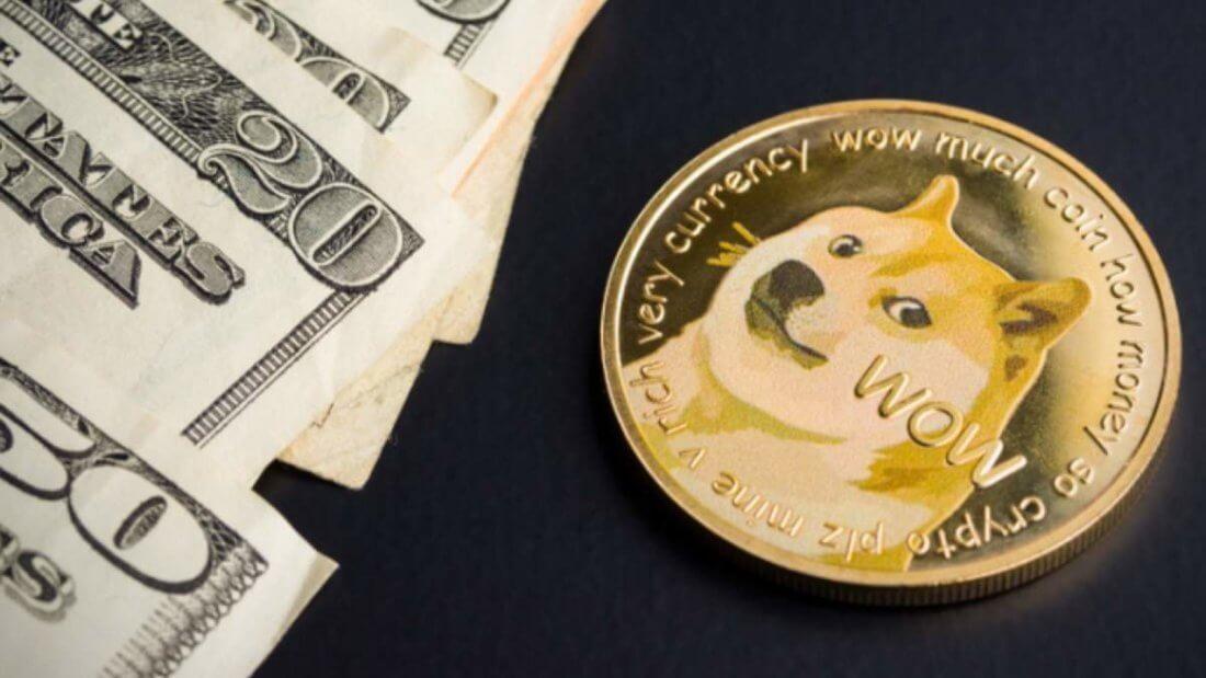 Dogecoin криптовалюта рост