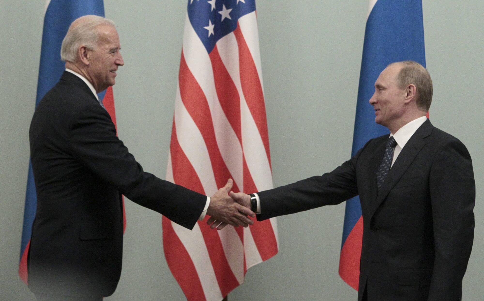 Путин Байден президент США РФ
