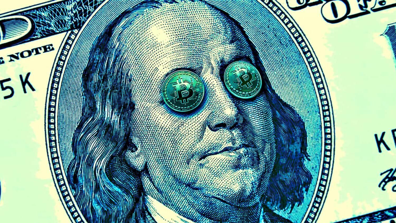 доллар валюта Биткоин экономика
