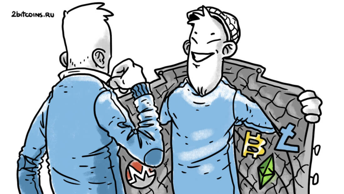 криптовалюты покупка блокчейн Биткоин