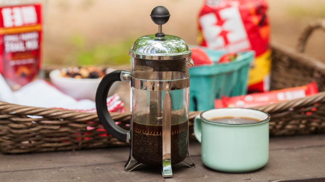 кофе френч пресс