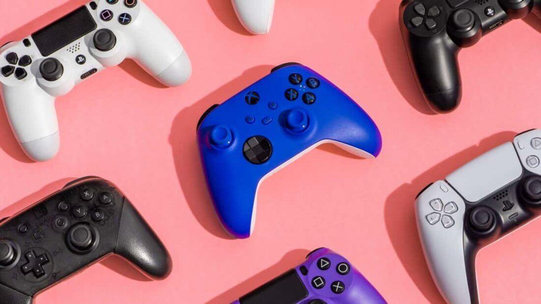 консоли контроллер игры