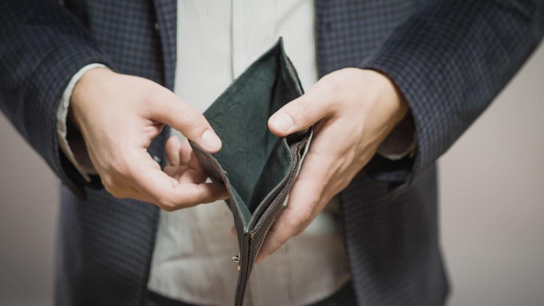 кошелек деньги доллар
