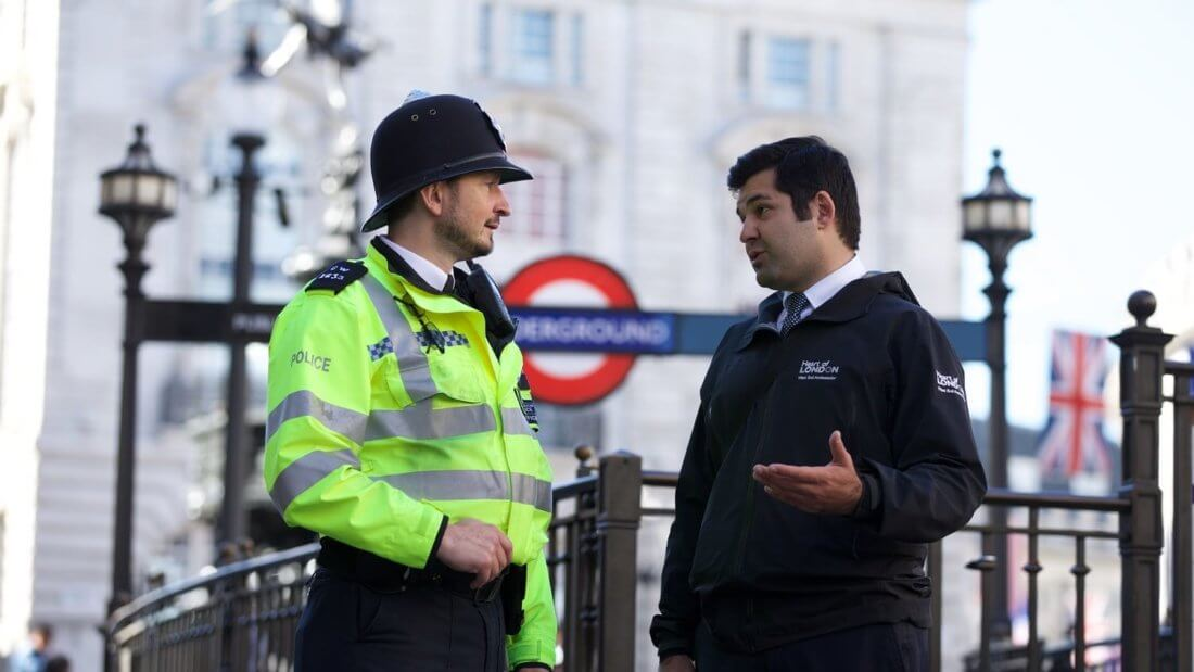 полиция Лондон Англия