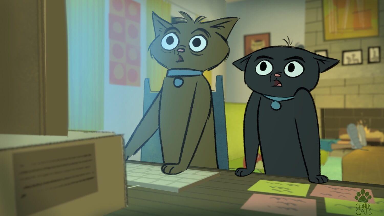 Stoner Cats шоу NFT