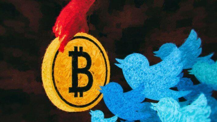 Твиттер Биткоин блокчейн