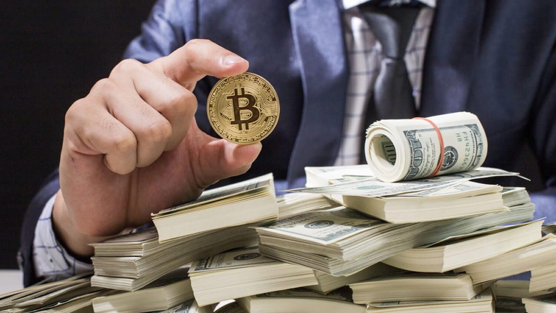 Биткоин монета доллар деньги
