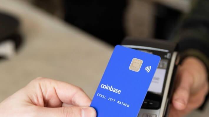 Coinbase карта терминал оплата биржа
