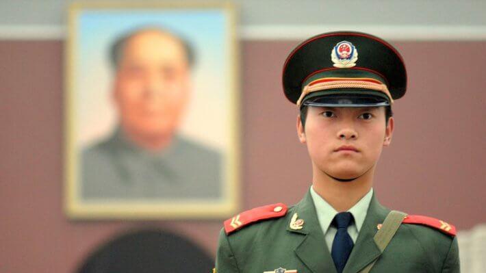 Китай солдат армия