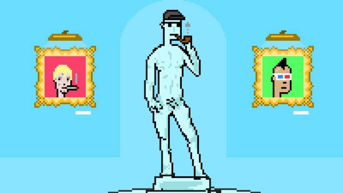 pixel art cryptopunks nft токены