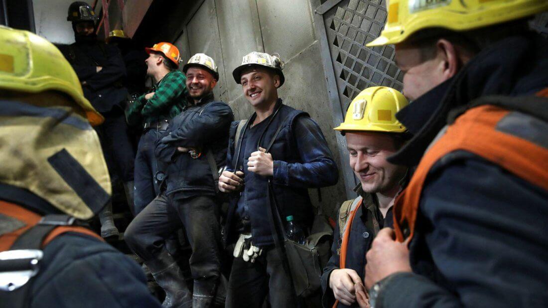 майнеры шахтёр