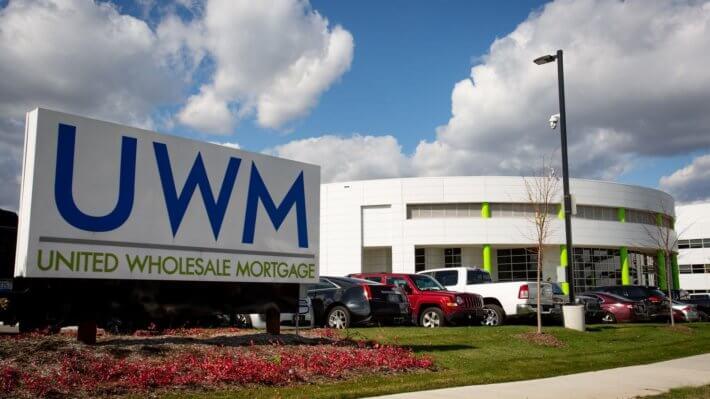 UWM ипотека США кредит