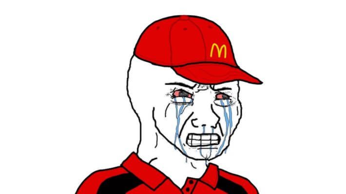 Макдональдс мем инвестиции падение