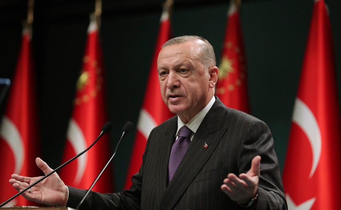 Турция Эрдоган президент