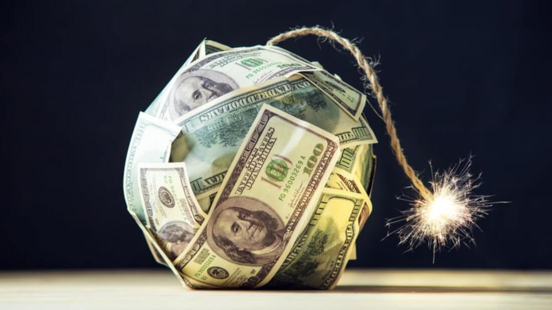 доллар бомба деньги