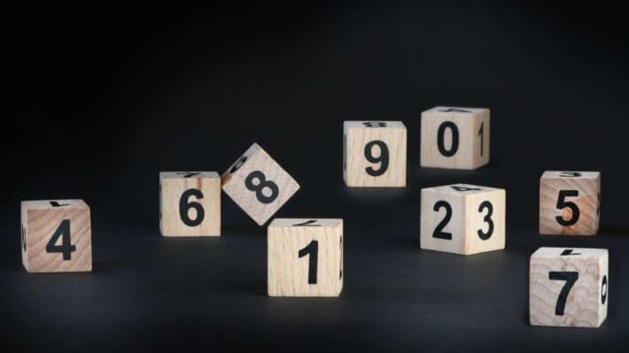 цифры кубики игра