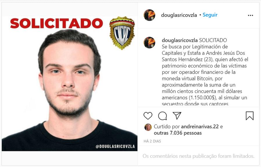 мошенник криптовалюты Венесуэла Биткоин