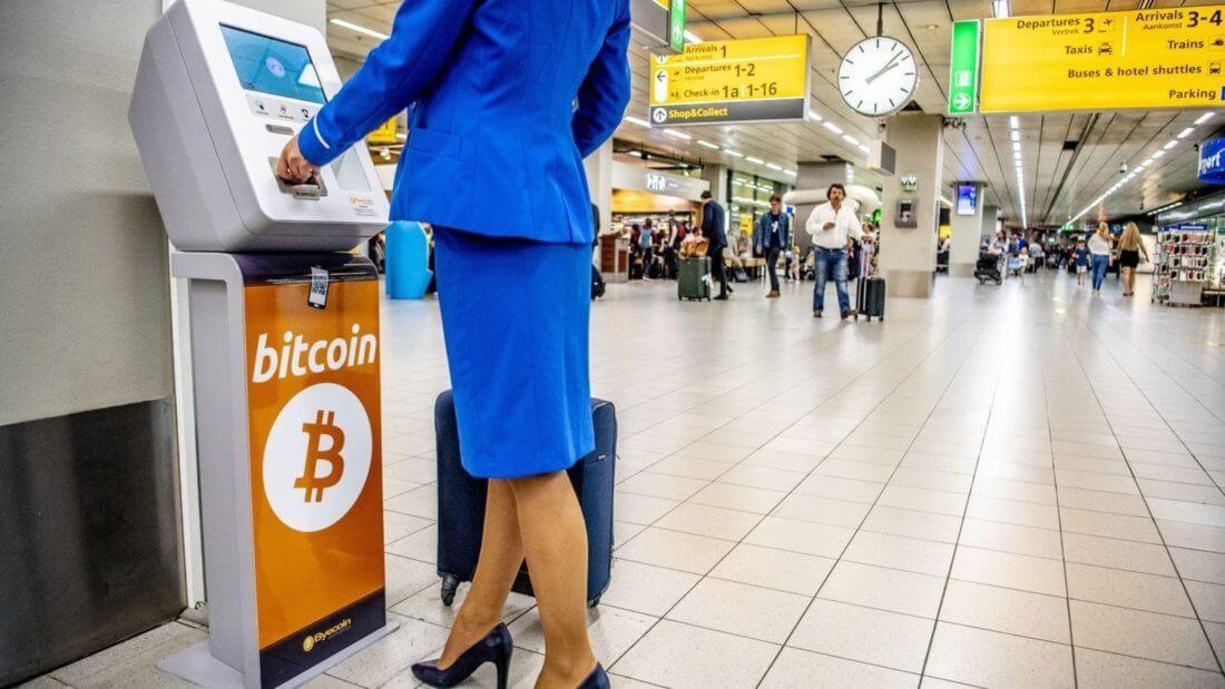 Аэропорт Биткоин криптовалюта