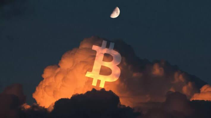 Биткоин небо криптовалюта