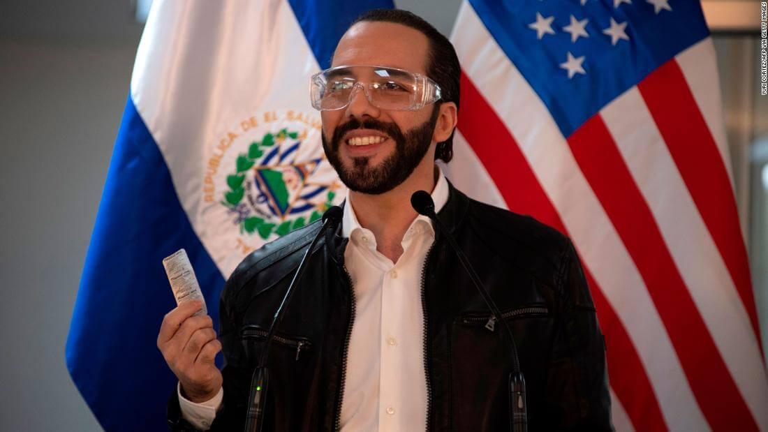 Найиб Букеле президент Сальвадор
