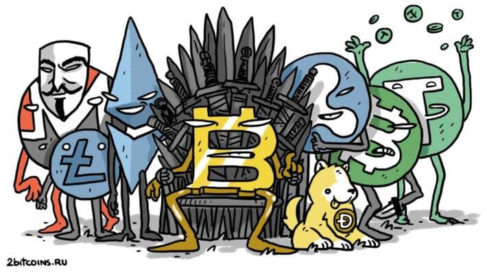 Криптовалюты Биткоин блокчейн