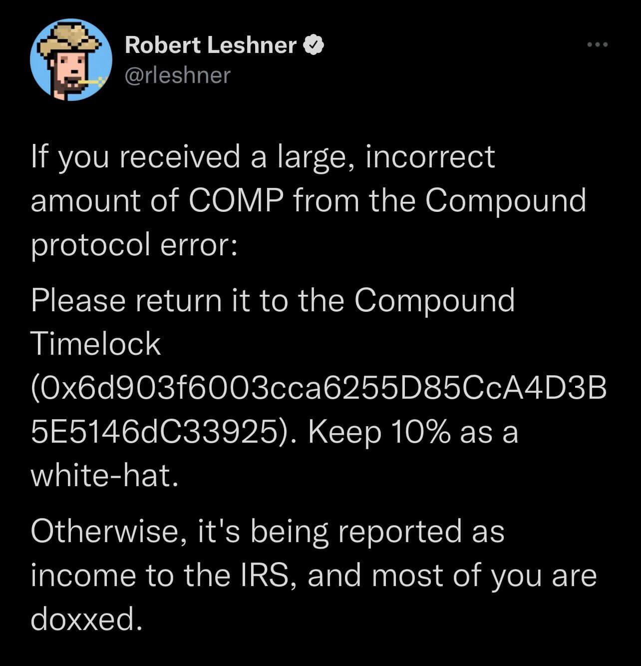 Роберт Лешнер Compound