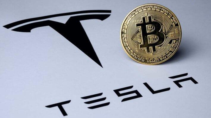 Tesla Биткоин инвестиции